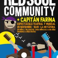 Actuación Red Soul Community con Capitán Farina