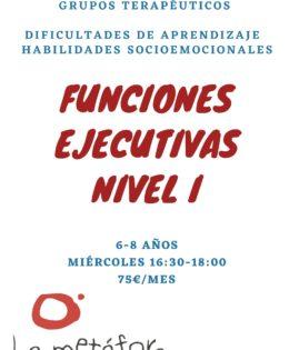 Funciones Ejecutivas (Nivel I)