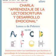 Charla sobre el Aprendizaje de la Lectoescritura y Desarrollo Emocional en la Infancia