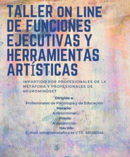 """Taller On Line de """"Funciones Ejecutivas y Herramientas Artísticas"""""""