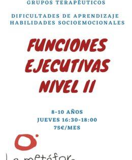 Funciones Ejecutivas (Nivel II)