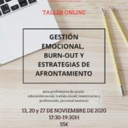 "Taller On Line de ""Gestión Burn-Out y Estrategias de Afrontamiento"""